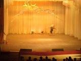 ЛЕНОЧКА первый раз на сцене!!!!!танец ЗАЙЧАТА